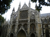 Westminster Abbey (or more importantly, where Prince William and Kate were married)