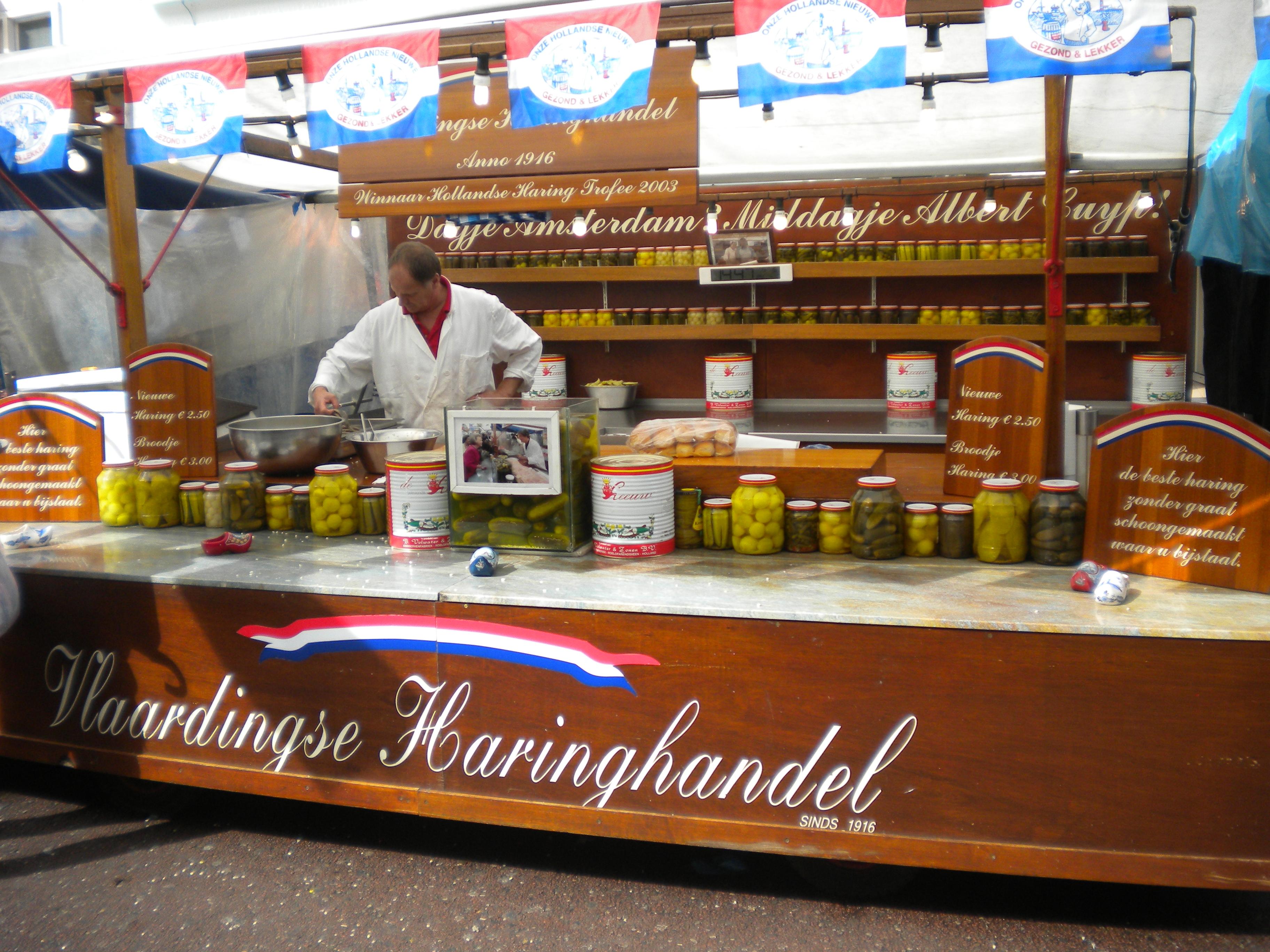 Zondag Albert Cuypmarkt Albert Cuyp Markt Pickles