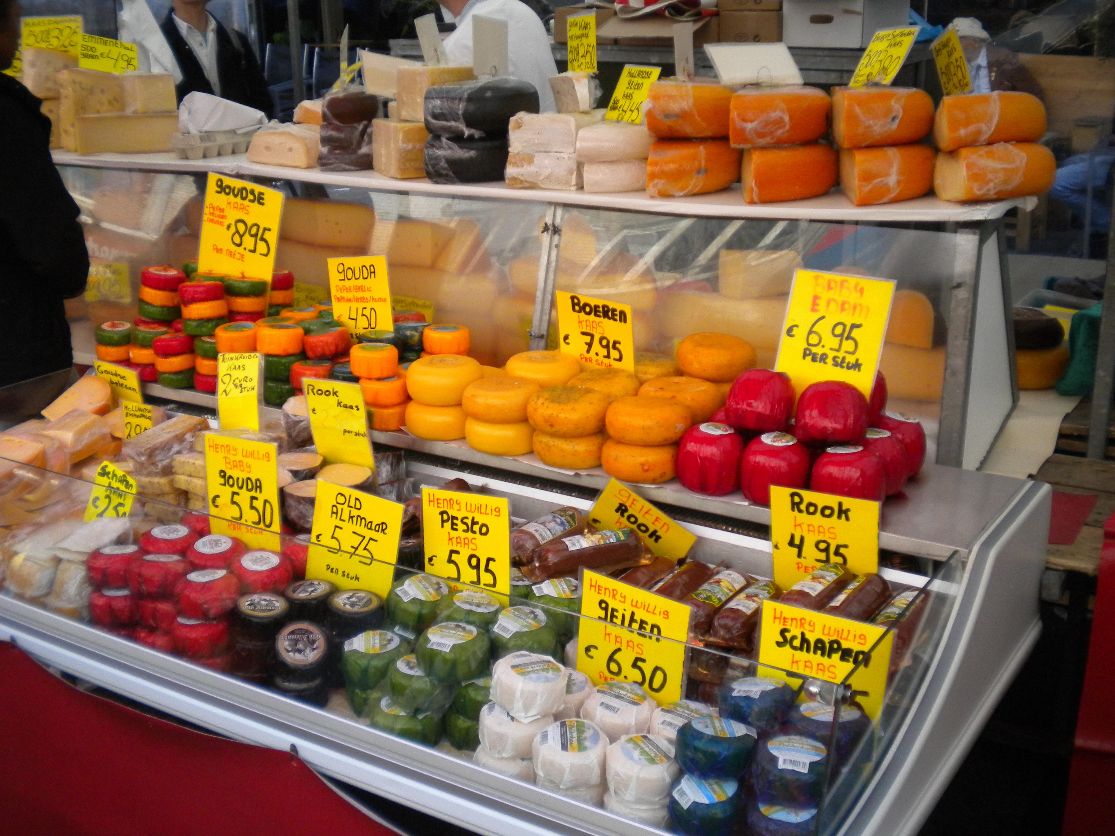 Zondag Albert Cuypmarkt Albert Cuyp Markt Cheese