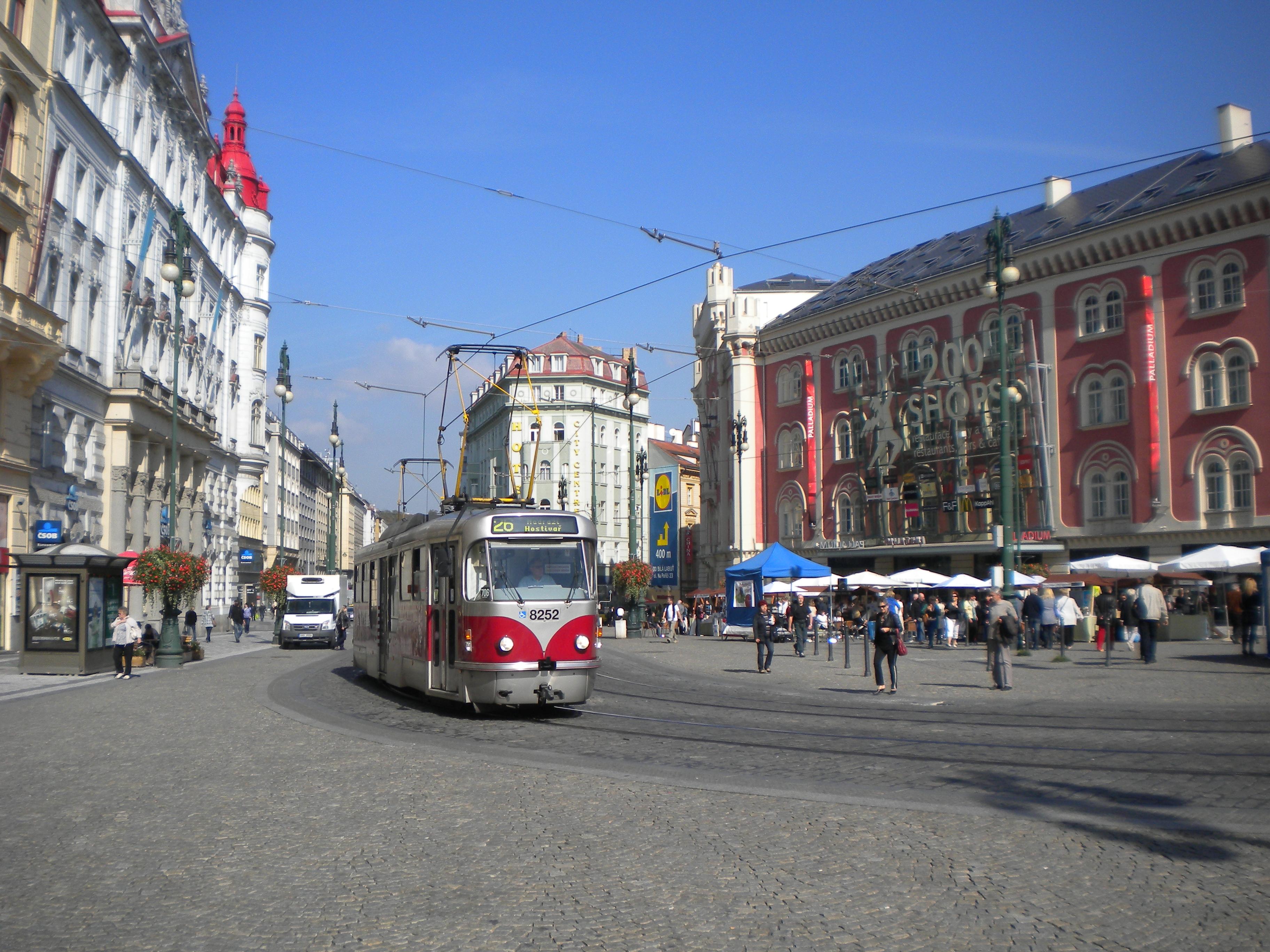 Prague Streets 1 Namaste Republicky Square Temporarily