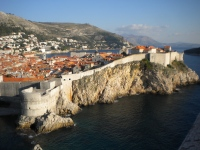 The walled city of Dubrovnik