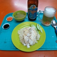 Chicken Rice, Chili Crab, and Hawker Centers