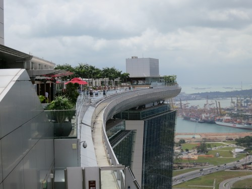 Singapore a beginner s guide to asia temporarily lost for Marina bay sands swimming pool entrance fee