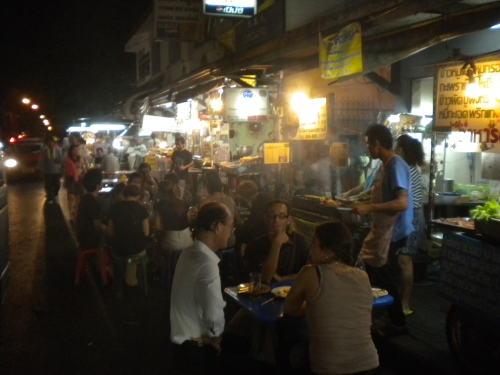 The Soi 38 Night Market just off Sukhumvit - my personal go-to in the city
