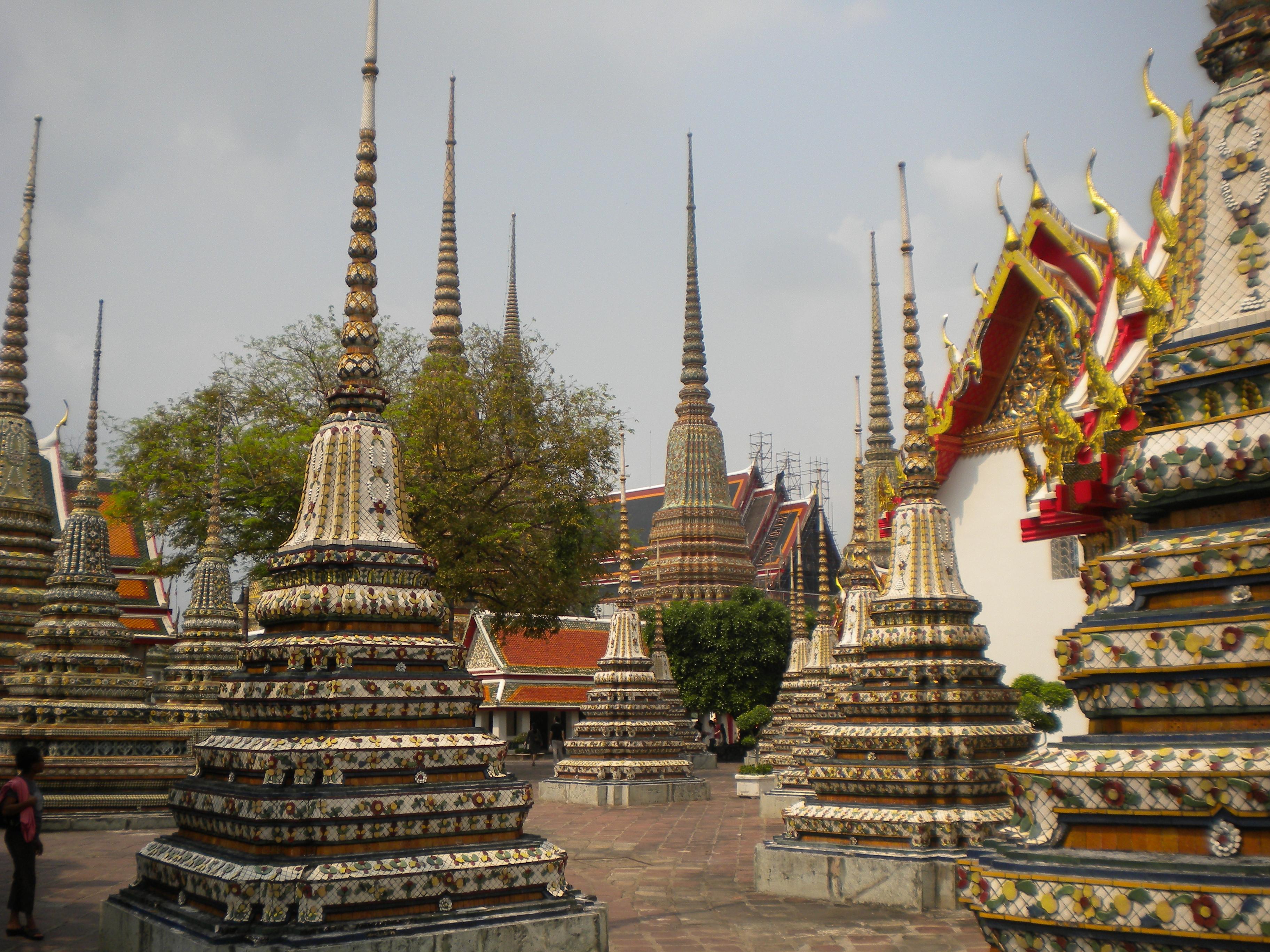 Wat Pho 22 – Pagodas  Temporarily Lost
