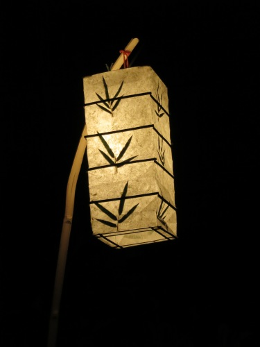 Luang Prabang 11 - Lantern at Night