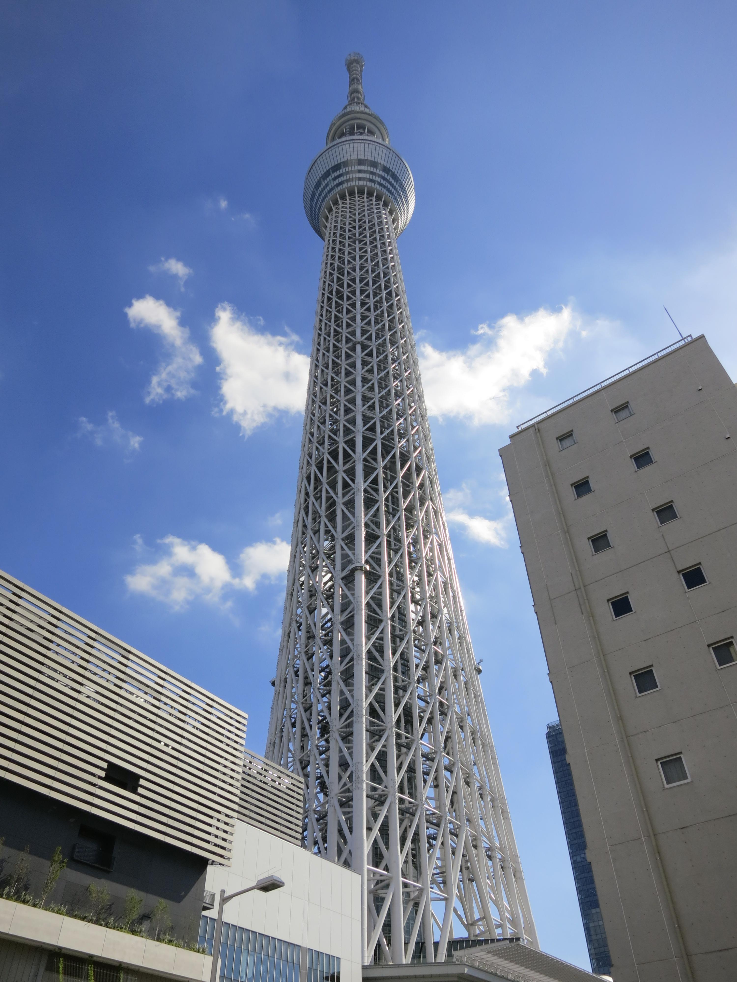 Tokyo Sky Tree 1  Temporarily Lost
