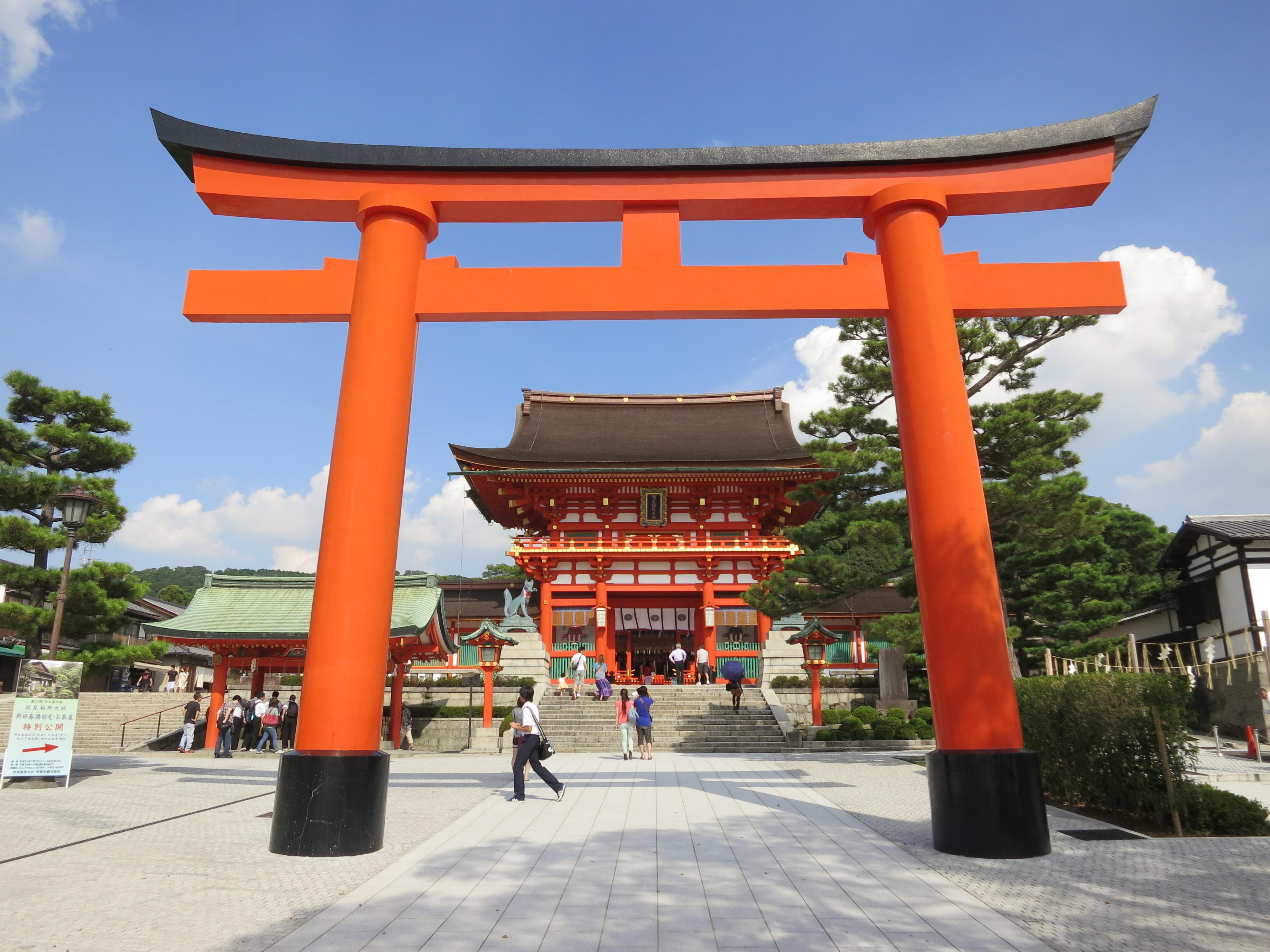 Fushimi-Inari Shrine 5 – Shrine  Temporarily Lost