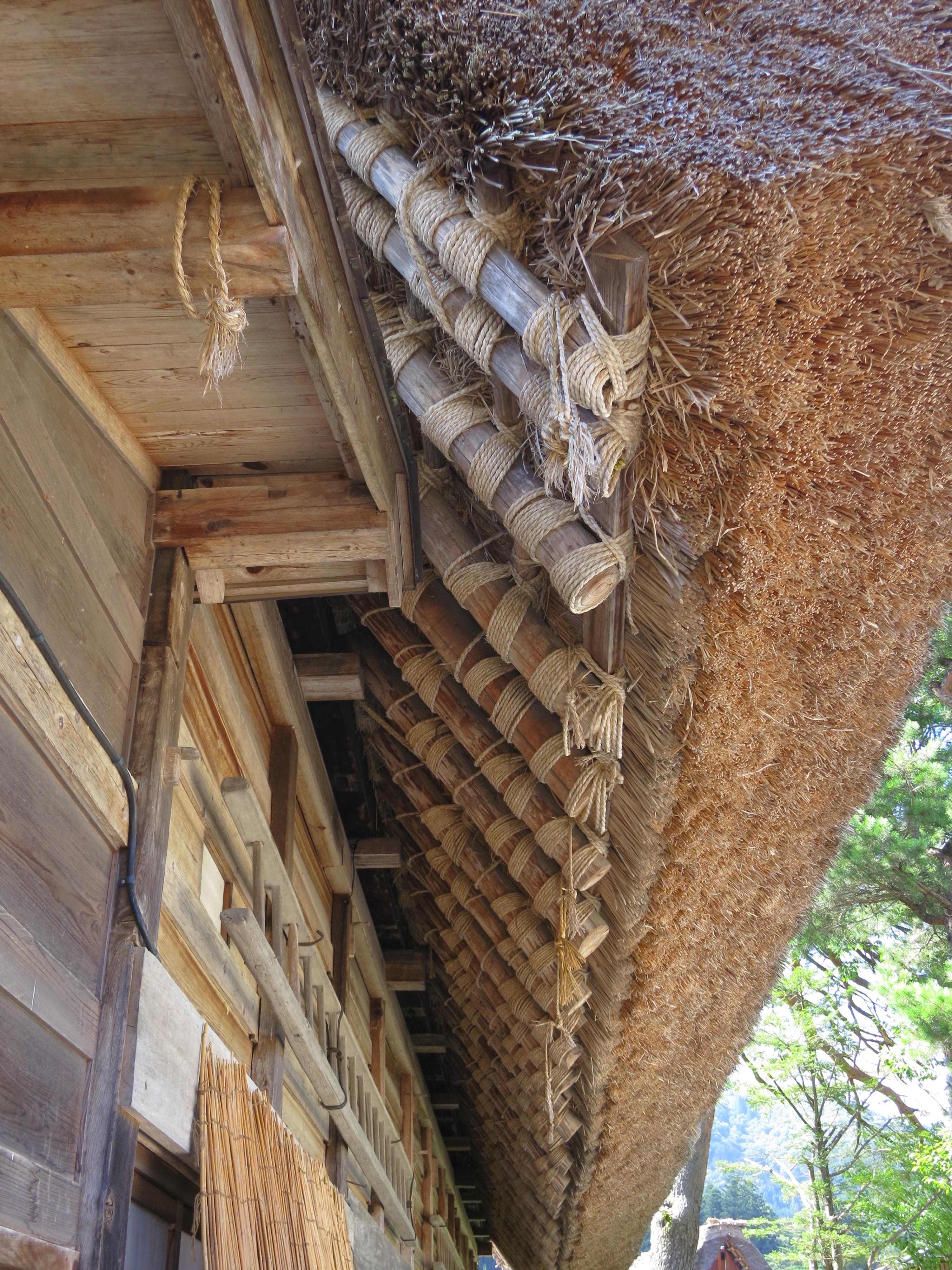 shirakawa go 36 roof construction temporarily lost
