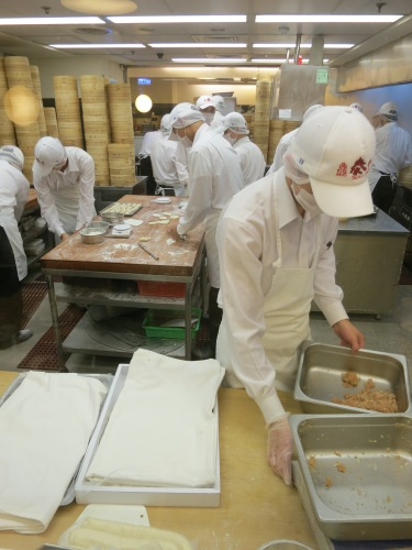 It wasn't at one of the Night Markets, but here's a peek into the kitchen of the famous Taiwanese chain of dumpling restaurants known as Din Tai Fung, which has spread to many of the neighboring countries