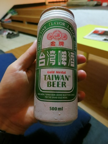 Finally, even though the Taiwanese people consume very little alcohol (they usually opt for tea or milk based drinks), I did manage to find one local beer to satisfy my beer geek instincts