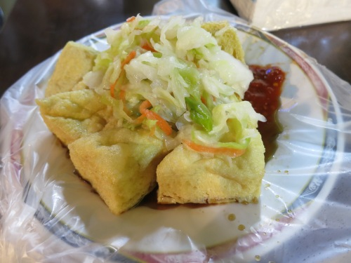 Stinky Tofu, the fried version