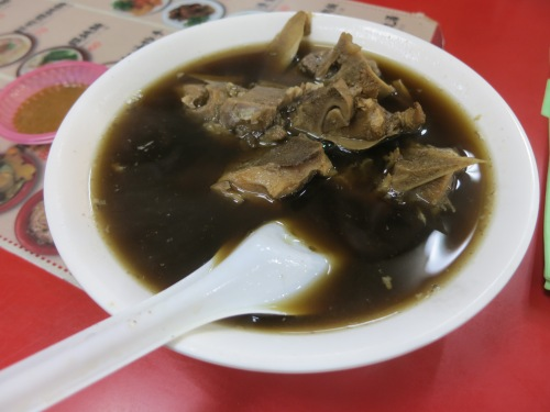 Pork Ribs stewed in Medicinal Broth - another example of Taiwan taking inspiration from an international dish (Chinese Bak Kut The, in this case) and making it their own
