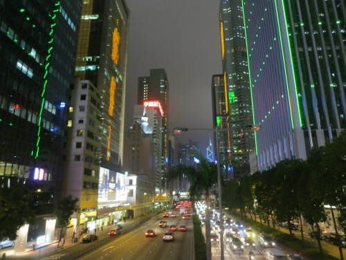 Hong Kong 1 - Streets at Night