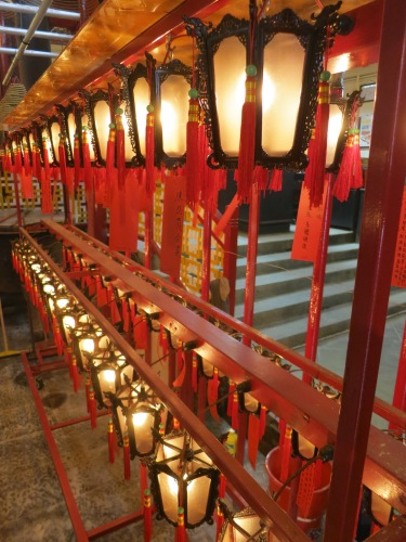 Man Mo Temple 2 - Lanterns