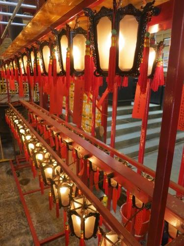 Man Mo Temple 2 - Lanterns