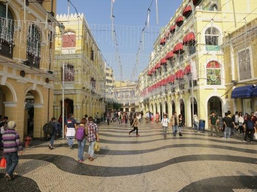 The Largo do Senado, or the Senado Square, which is the Urban center of town