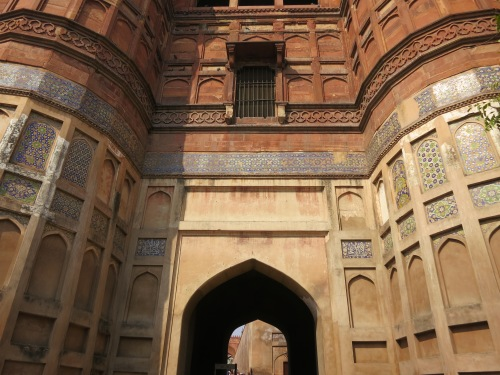 Agra Fort 11 - Gate