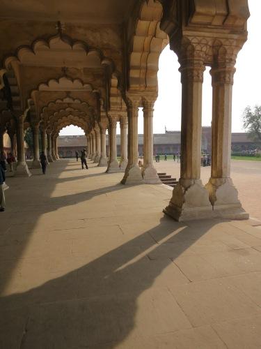 Agra Fort 42 - Arch Shadows