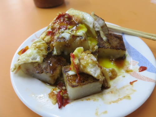 A hearty breakfast in Taiwan