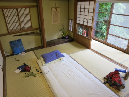 It seems a bit odd at first to Westerners, but the Tatami Mat style rooms of Japan really grew on me