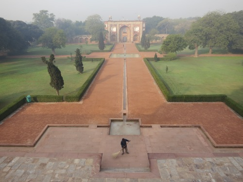 Humayun's Tomb 15 - Looking towards Entrance