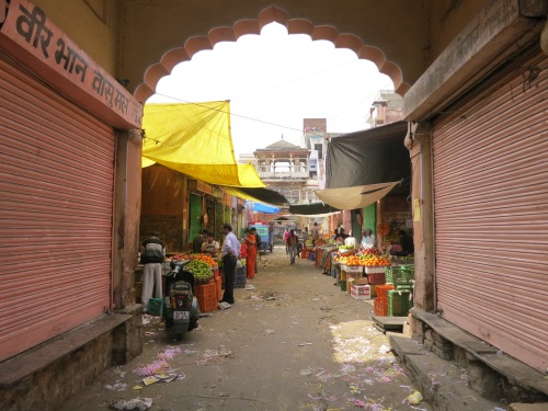 Jaipur 17 - Old City Streets