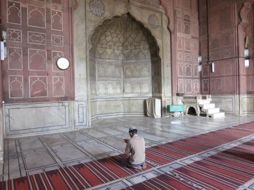 Jama Masjid 10 - Prayer
