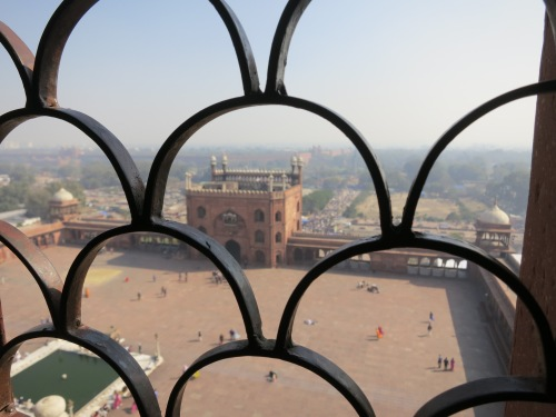 Jama Masjid 26 - View through Screen