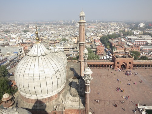 Jama Masjid 31 - View over Dome from Tower