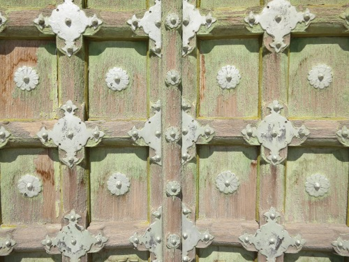 Jaswant Thada 10 - Weathered Door