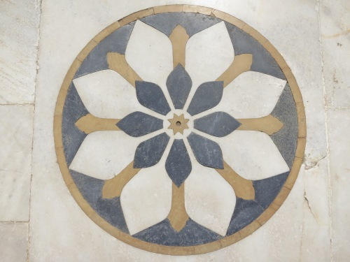 Jaswant Thada 12 - Design inlaid into floor