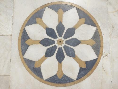 Jaswant Thada 12 - Design inlaid into floor