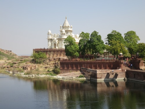 Jaswant Thada 21 - View over Lake