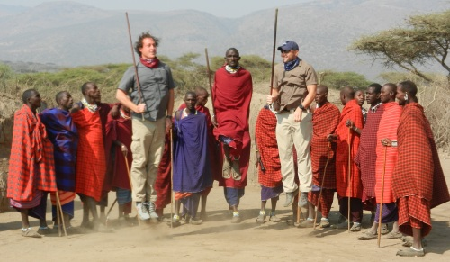 Jumping with Maasai