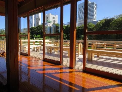 Matsu-no-ochaya 2 - View over garden