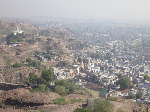 Mehrangarh 23 - View over town