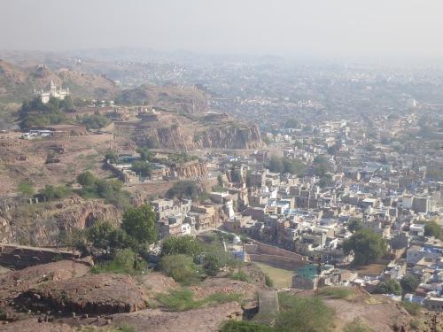 Mehrangarh 23 - View over town