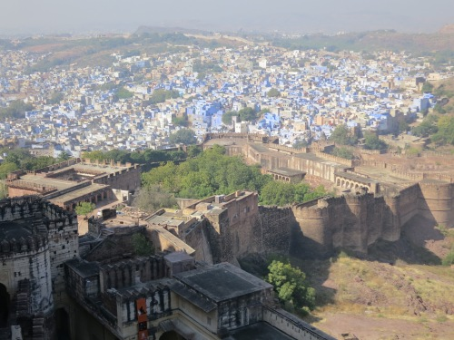Mehrangarh 27 - View over town