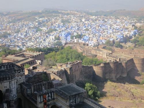Mehrangarh 27 - View over town