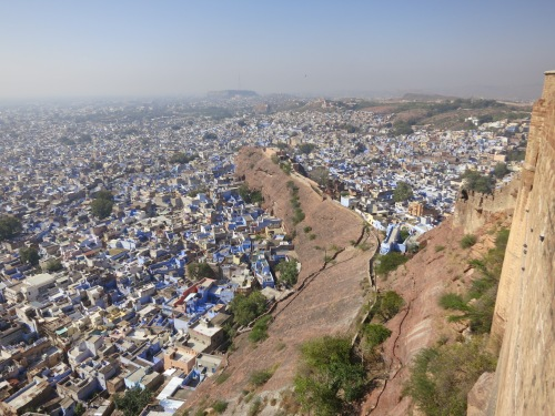 Mehrangarh 37 - View over town