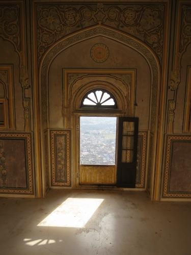 Nahargarh Fort (Monkey Fort) 9 - Light through Window