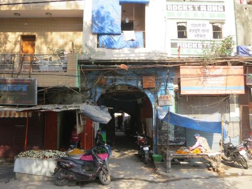 Old Delhi 10 - Colorful Facades