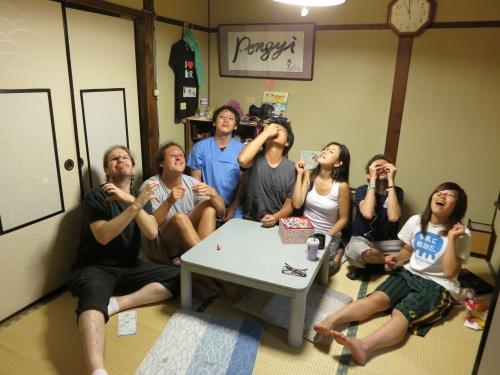 Silly games in Kanazawa