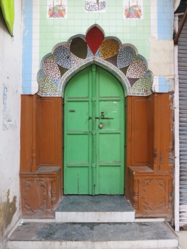 Paharganj Area 3 - Colorful Doorway