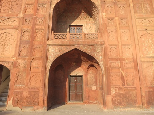 Red Fort 6 - Arched on Naubat Khana