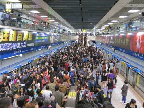 The crowded subways of places like Tokyo, Beijing, Seoul, and Taipei is the stuff of legend, and with good reason, too!