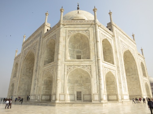 Taj Mahal 39 - From Corner
