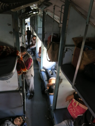The Interior of my sleeper compartment