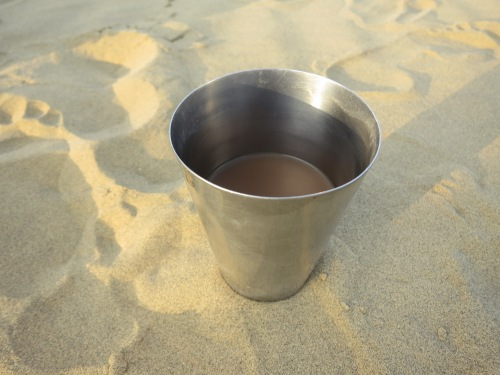 Of course, even out in the dessert, we can't go without chai